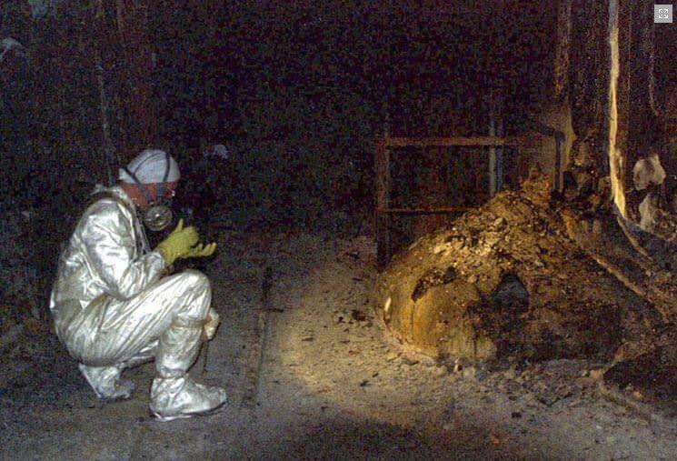 L'oggetto più pericoloso del mondo: è il nucleo della centrale nucleare di Chernobyl