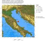 Terremoto Marche e Abruzzo 29 Maggio: scossa di magnitudo 4.3 Richter