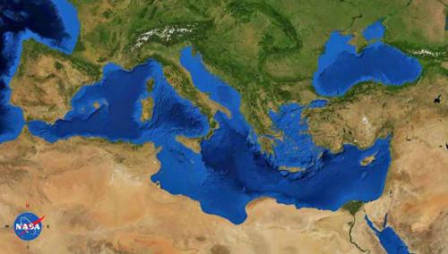 Il Mediterraneo era una valle ricoperta di sale