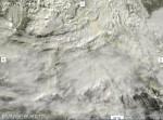Italia dal satellite, forti piogge al Centro Sud