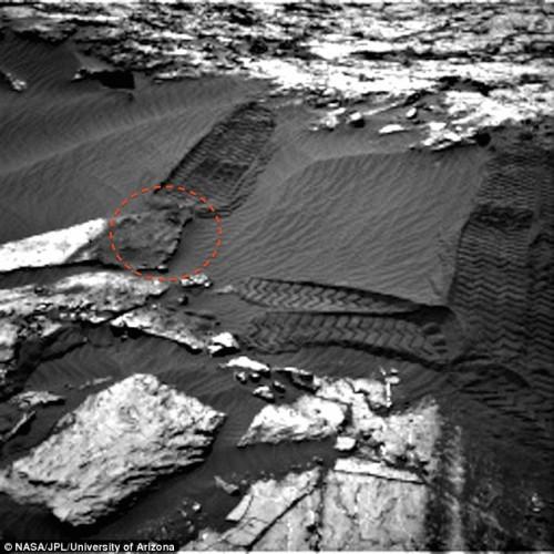 volto alieno su Marte
