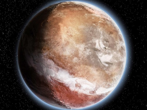 Una massiccia eruzione vulcanica ha cambiato il volto di Marte