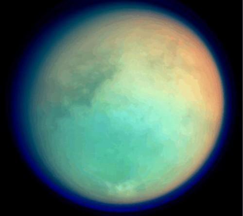 NASA, identificate le montagne più alte di Titano