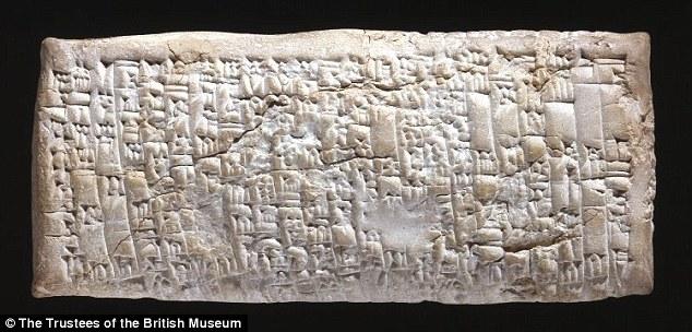 Un reclamo commerciale avvenuto nel 1.750 a.C.