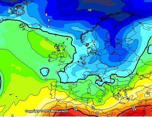 Tendenza meteo: stop al caldo, più fresco ed instabile dopo il 20 Aprile