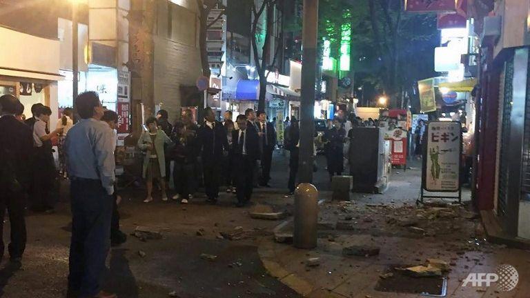 Terremoto in Giappone, forte scossa di magnitudo 6.4