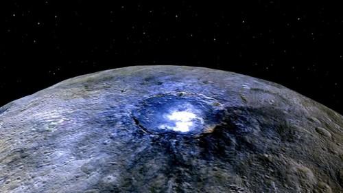 Cerere, scoperto il segreto dei crateri 'luminosi': antiche presenze di acqua