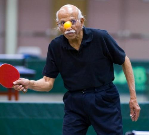 Salute, contrastare la demenza con il ping pong