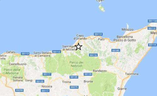 Terremoto a Messina: nella notte due scosse di magnitudo 3.4