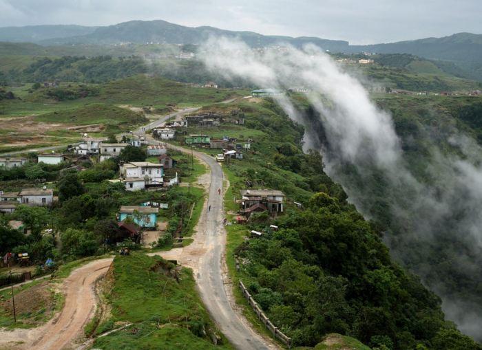 Ecco il villaggio di Mawsynram, India