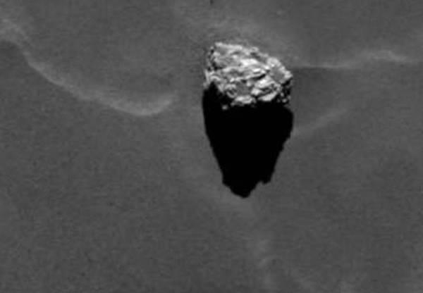 La roccia a forma di Piramide - ESA