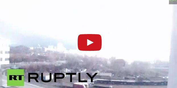 Strana scia luminosa illumina a giorno parte dell'Ucraina: cittadini divisi tra panico e stupore - youreporter