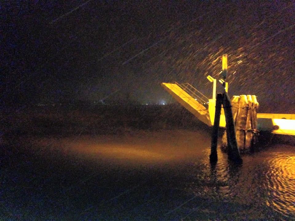Giuliano Nardin ci regala questo magnifico scatto fotografico della neve a Venezia