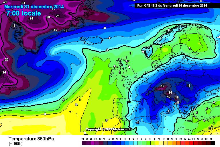 Gelo sul breve-medio termine ampiamente confermato - www.meteociel.fr