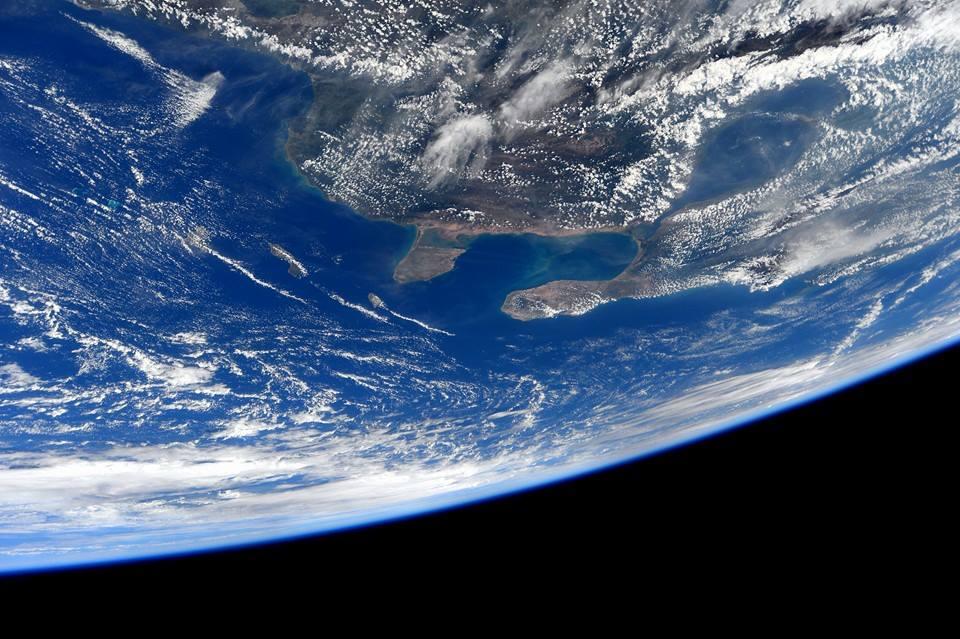 La Colombia fotografata dalla ISS