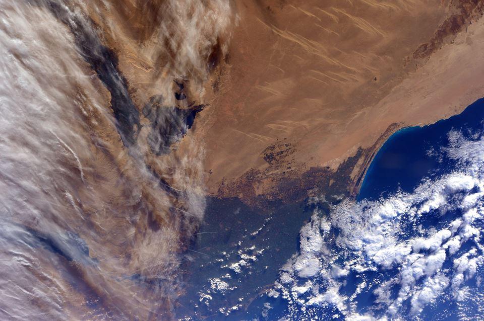 La costa ed il deserto dell'Egitto settentrionale