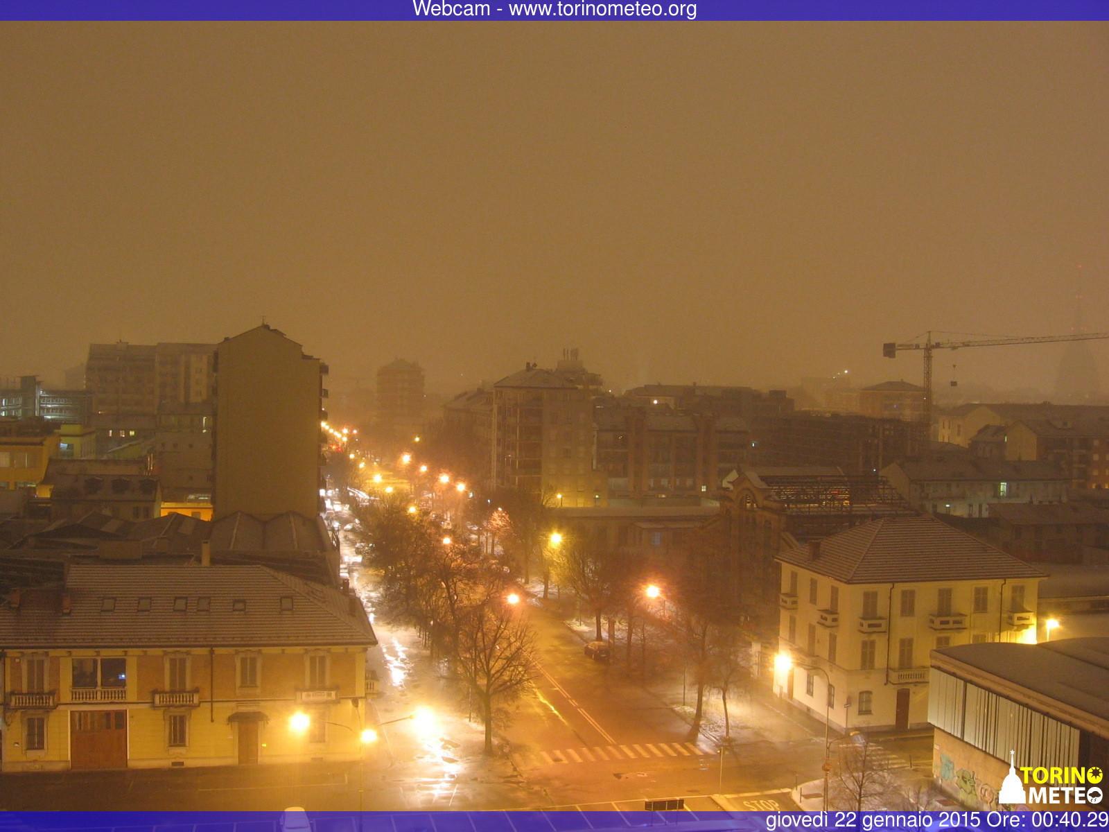 Torino capitola a neve - www.torinometeo.org