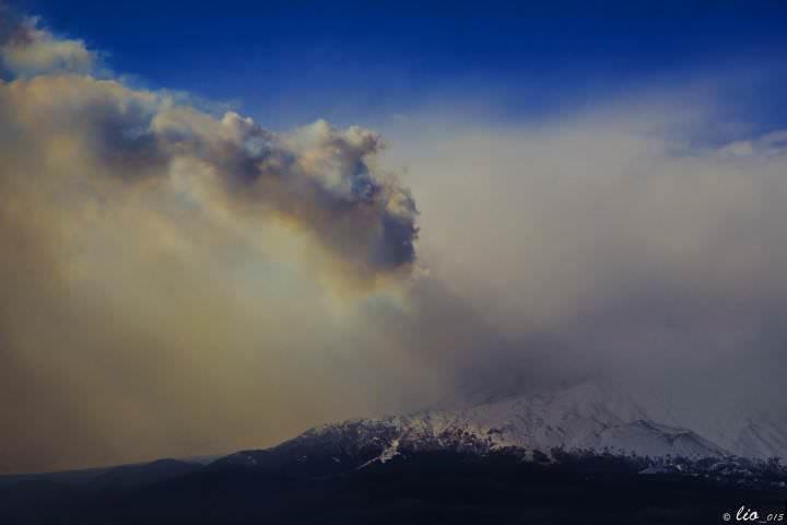 Eruzione Etna: nuovo parossismo iniziato nella notte - foto a cura di Lillo Flamingo Beach