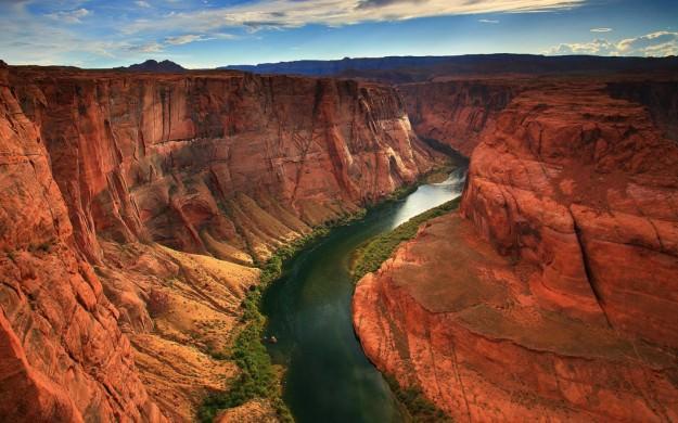 I fiumi scorrono più velocemente dopo i terremoti? - il fiume Colorado scorre all'interno di uno tra i più antichissimi canyon della Terra