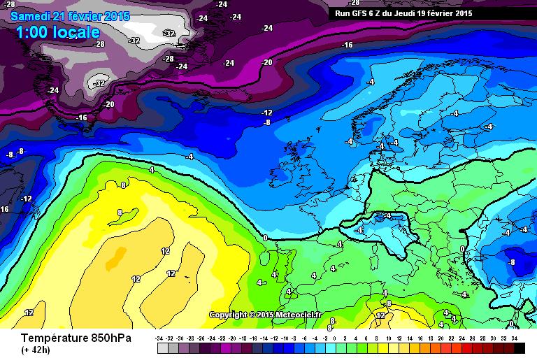 Ecco la prima incursione di aria fredda - www.meteociel.fr