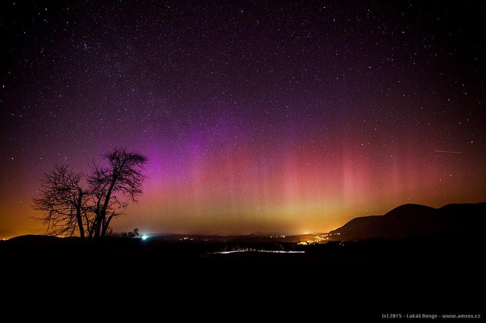 Aurora boreale avvistata in Austria, Francia, Repubblica Ceca, Polonia e Germania - Lukáš Ronge