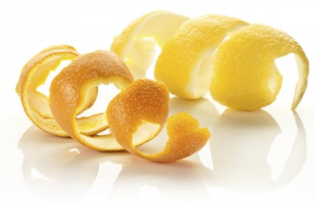 Le proprietà segrete delle bucce di limone