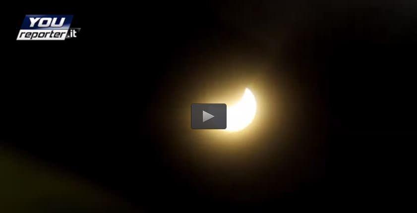 Eclissi Roma: ecco cosa si è visto in mattinata sulla Capitale, il video - Youreporter
