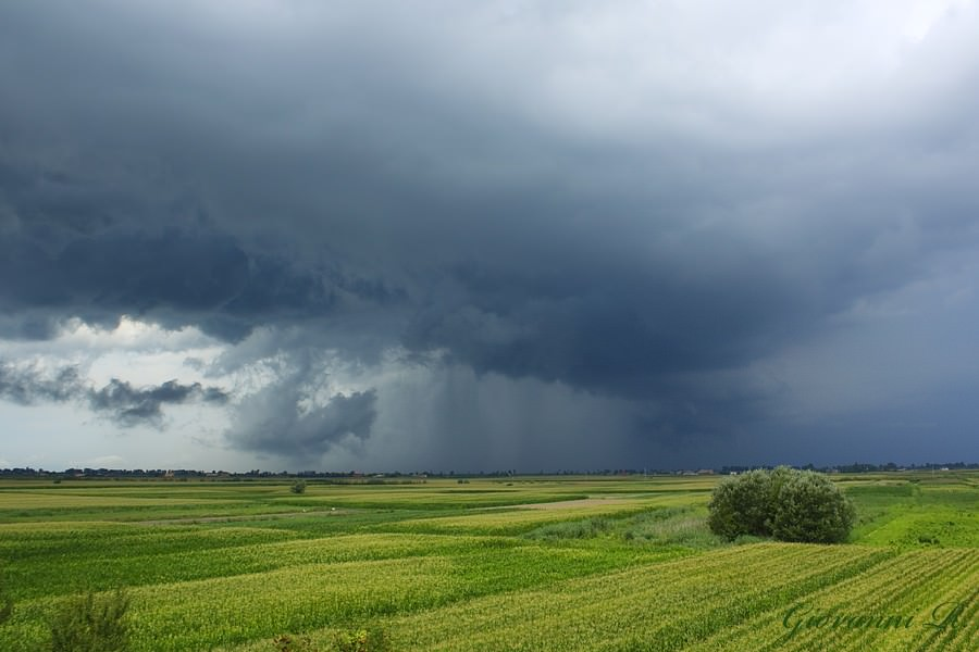 Forti temporali in arrivo sul Nord Italia, a causa di infiltrazioni fresche da Nord