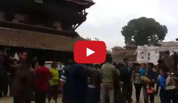Terremoto oggi in Nepal: Kathmandu è ridotta a un cumulo di macerie, il video