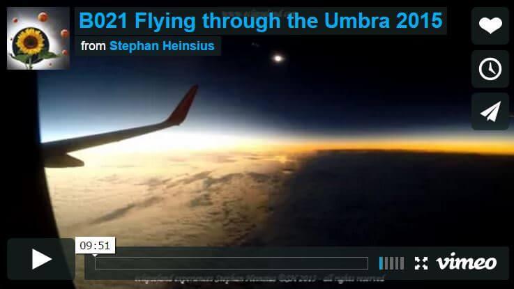 Eclissi di Sole, lo straordinario video della zona d'ombra girato dentro un aereo - VIMEO (video qui sotto)