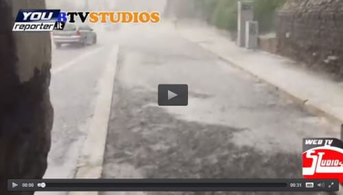 Grandine Roma: nubifragio sulle zone centrali della città, il video - Youreporter