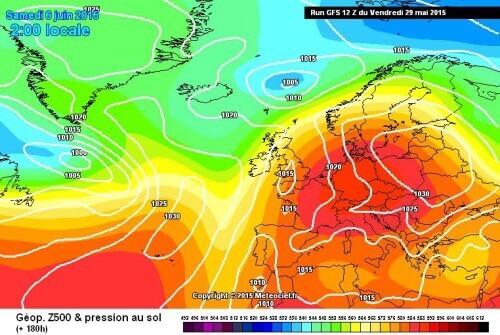 Tendenza meteo prossimi giorni: caldo e stabilità in arrivo, locali temporali sulle zone interne - meteociel.fr