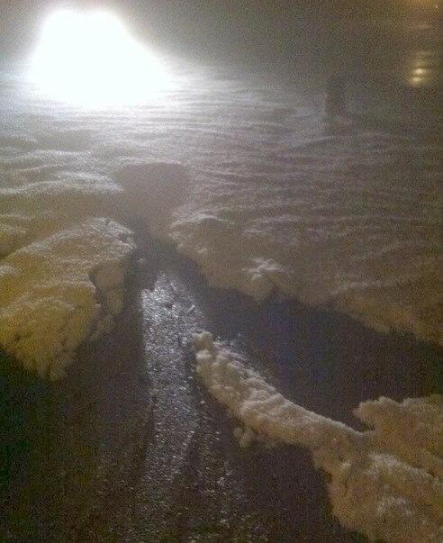 Villanuova sul Clisi (Brescia), pazzesca grandinata (fonte gruppo Facebook Appassionati di Meteorologia)
