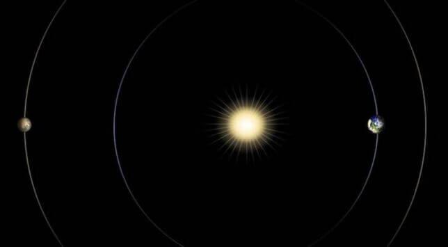 Congiunzione solare in atto, silenzio radar tra Marte ed il nostro pianeta