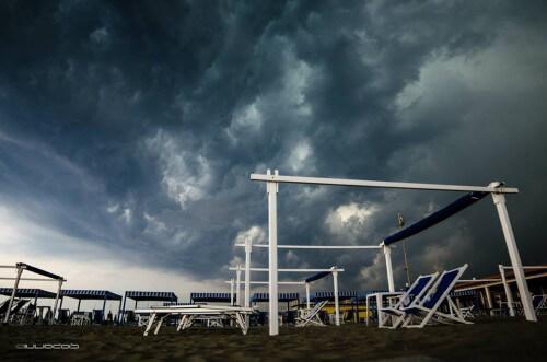 Transito della shelf cloud - Giulio Maggi