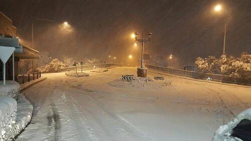 Abbondante nevicata a Katoomba