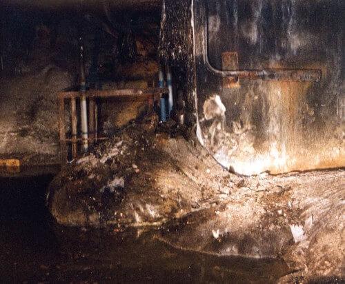 Ecco l'interno del reattore Numero Quattro, chi entra qui può morire entro pochi minuti, addirittura 10 secondi se lo si fa senza protezioni