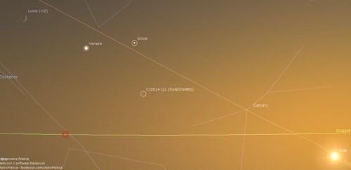 Allineamento Giove, Luna e Venere, stasera si bissa - Astronomiapratica