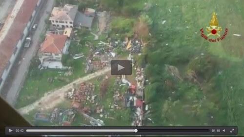immagini dall elicottero