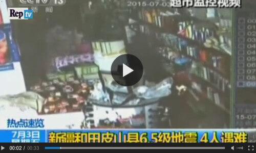Terremoto Cina, il video della forte scossa di terremoto  - Repubblica.it