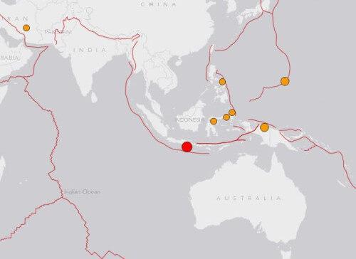 Terremoto Indonesia: scossa di magnitudo 6.0 della scala Richter - USGS