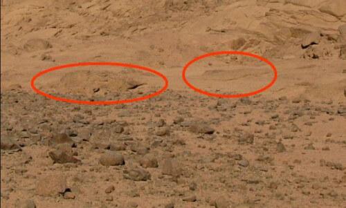 Zona inspiegabile di Marte