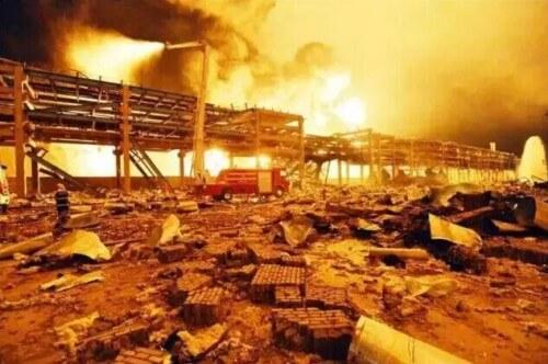 Nuovo drammatico incendio in un impianto chimico in Cina, stavolta a Shandong