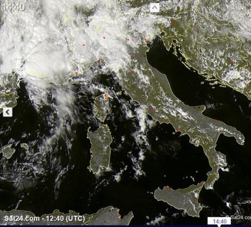 Alluvione-lampo nel Sud della Francia, nelle prossime ore fenomeni anche al Nord Italia - sat24.com