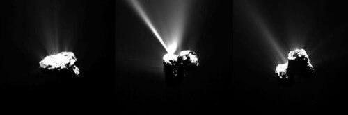 Sonda Rosetta, fotografato l'incontro esplosivo con il Sole - ESA