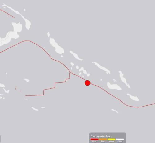 Terremoto nel Pacifico, scossa di magnitudo 6.4 alle Isole Salomone