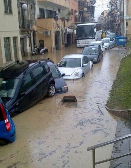 Maltempo ed alluvioni in alcune zone della Sicilia