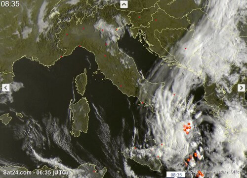 ciclone mediterraneo sud italia
