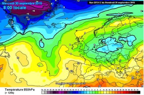 freddo in arrivo europa