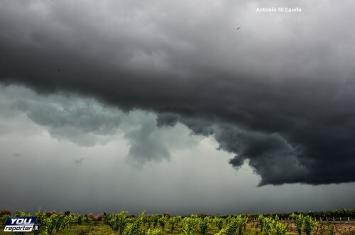 Calo termico e maltempo in arrivo a partire dal Nord Italia - fonte Youreporter